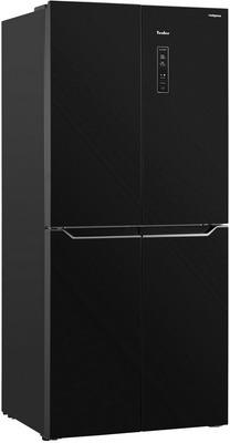 лучшая цена Многокамерный холодильник TESLER RCD-480 I BLACK GLASS