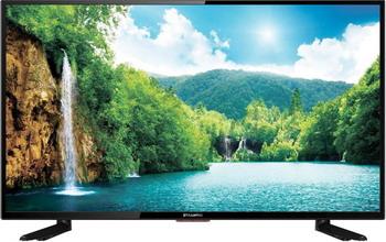 Фото - LED телевизор Starwind SW-LED 43 F 422 ST2S серебристый выключатель werkel двухклавишный проходной с подсветкой шампань рифленый wl10 sw 2g 2w led золотой