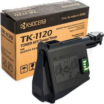 Картридж Kyocera TK-1120 картридж mak© tk 130 черный для лазерного принтера