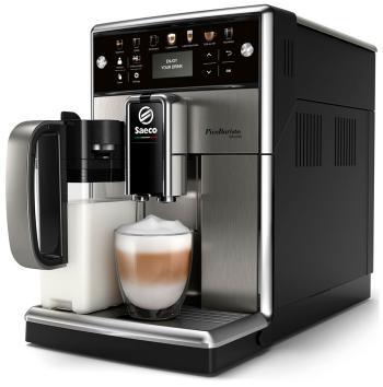 Кофемашина автоматическая Philips Saeco SM 5570/10 черный серебристый кофе машина philips saeco hd 8911