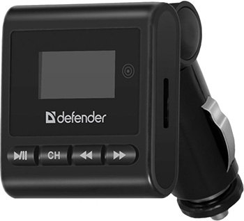 Fm-трансмиттер Defender RT-Basic Пульт ДУ 83554 пульт ду flama fl nt mc30 с таймером