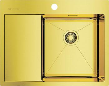 Фото - Кухонная мойка Omoikiri Akisame 65-LG-R врезная кухонная мойка 65 см omoikiri akisame 65 in r нержавеющая сталь