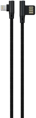 Фото - Кабель Red Line Fit USB-Lightning черный lenzza nylon braided kevlar cable кевларовый кабель lightning to usb длина 1 2 м цвет золотой