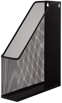 Лоток вертикальный для бумаг Brauberg ''Germanium'' (250х72х315 мм) металлический черный 231948 недорого
