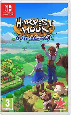 Игра для приставки Nintendo Harvest Moon: One World