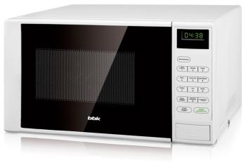 Микроволновая печь - СВЧ BBK 20 MWS-728 S/W белый цена и фото