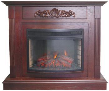Каминокомплект Royal Flame Madrid с очагом Panoramic 25 FX (махагон коричн. антик) (64906177) цена