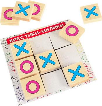 Настольная игра Играем Вместе Крестики-нолики Классика настольная игра shantou крестики нолики крестики нолики