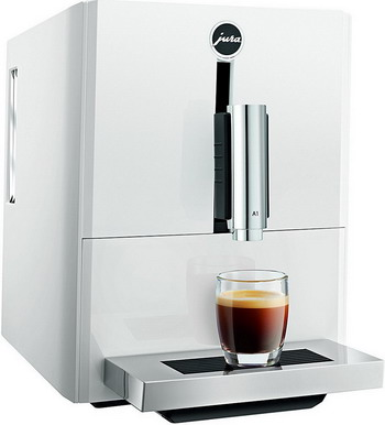 Кофемашина автоматическая Jura A1 Piano White 15171 кофемашина jura e6 platin 15058