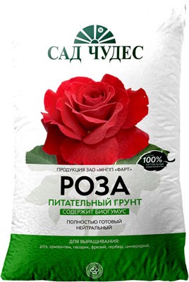 Грунт ФАРТ Сад чудес Роза 5 л. 83018 все цены