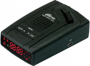 Фото - Радар-детектор Ritmix RAD-505 ST GPS авто