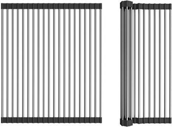 Решетка OMOIKIRI ROLL-01-IN нерж. сталь/черный (4997003)