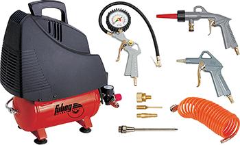 Компрессор FUBAG SERVICE MASTER KIT 6 (OL 195/6 6 предметов) компрессор fubag easy air 6 предметов