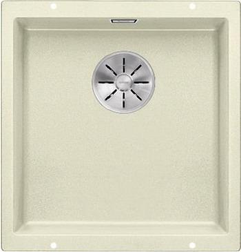 Фото - Кухонная мойка Blanco SUBLINE 400-U SILGRANIT жасмин с отв.арм. InFino 523427 кухонная мойка blanco subline 400 u silgranit антрацит с отв арм infino 523422