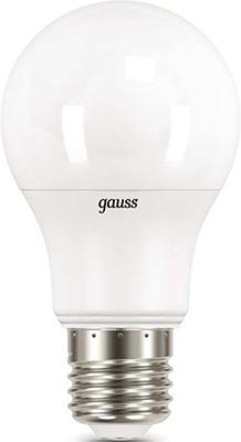 Лампа GAUSS LED A 60-dim E 27 11 W 4100К диммируемая 1/10/50 bm 60 3 e
