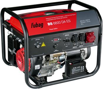 цена на Электростанция бензиновая с электростартером и коннектором автоматики FUBAG BS 6600 DA ES 838758
