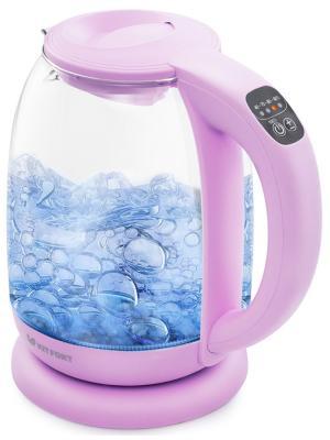 Чайник электрический Kitfort КТ-640-2 сиреневый все цены