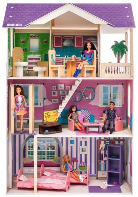 Кукольный домик Paremo Флоренция (с мебелью) PD 318-14 цена и фото