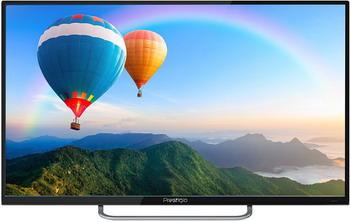 4K (UHD) телевизор Prestigio PTV 55 SS 03 Y_BK_CIS черный телефонная розетка abb bjb basic 55 шато 1 разъем цвет черный