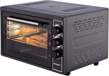 Электропечь Kraft KF-MO 3801 BL черный цена