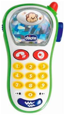 Смартфон игровой Chicco телефон музыкальный с фото 6м