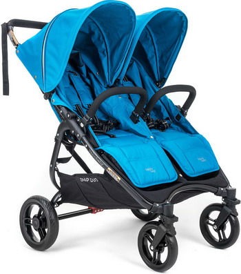 Коляска Valco baby Snap Duo Ocean Blue 9886 пледы kidboo blue ocean флисовый