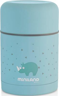 цена на Детский термос для еды Miniland Silky Thermos 600 мл голубой 89221