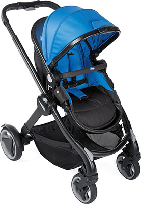 Коляска Chicco Fully - Single Stroller Power Blue