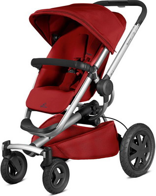 Коляска Quinny Buzz Xtra 4 red rumour 79609240 quinny buzz xtra high landscape folding three wheeled shock absorber baby pram