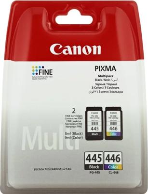 Набор картриджей Canon PG-445/CL-446 8283 B 004 Чёрный/Цветной