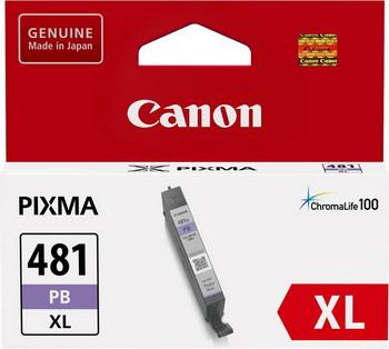 Фото - Картридж Canon CLI-481 XL PB EMB 2048 C 001 Фото голубой картридж canon cli 481pb xl 2048c001 для canon pixmats8140ts ts9140 голубой
