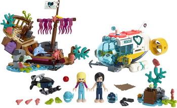 Конструктор Lego Friends 41378 Спасение дельфинов спасение фатьмы