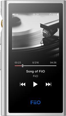 Hi-fi Портативный плеер FiiO M9 Silver hi fi портативный плеер fiio m7 silver
