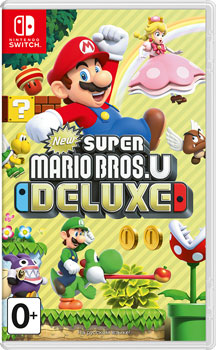 Игра для приставки Nintendo Switch: New Super Mario Bros. U Deluxe