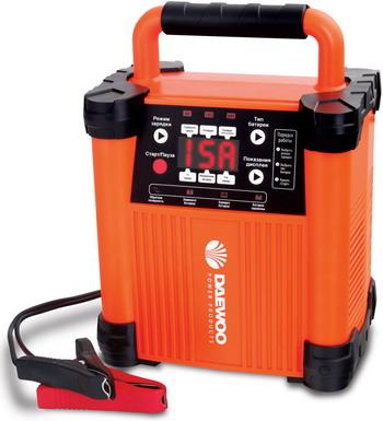 Зарядное устройство для автомобилей Daewoo Power Products DW 1500 устройство зарядное daewoo dw 500 6 12в 5a