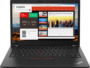 Ноутбук Lenovo ThinkPad T480s i5 (20L7001VRT) Черный цена и фото