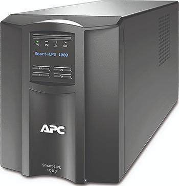 Источник бесперебойного питания APC Smart-UPS SMT1000I 700Вт 1000ВА черный источник бесперебойного питания apc smart ups srt 1500va rm 230v 1500va черный srt1500rmxli