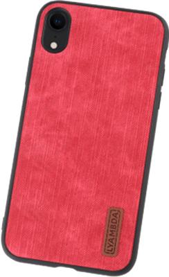 Чехол Lyambda REYA для iPhone XR (LA07-RE-XR-RD) Red фото