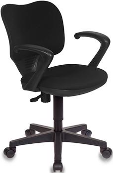 Кресло Бюрократ CH-540AXSN-LOW/26-28 черный кресло бюрократ ch 540axsn low на колесиках ткань серый [ch 540axsn low 26 25]