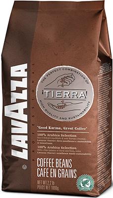 Кофе в зернах Lavazza Tierra Intenso Bag 1кг цена