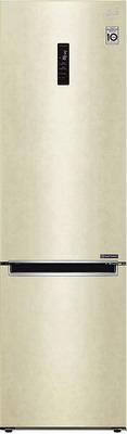 Двухкамерный холодильник LG GA-B 509 MESL бежевый