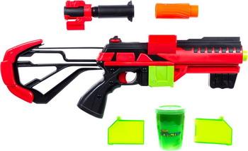 Бластер 1 Toy Слайм ''Звёздный десант'' (в компл. Бластер мишень слизь 120 г) Т15831 бластер 1 toy слайм призрачный патруль т15832