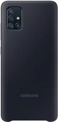 Чехол (клип-кейс) Samsung A51 (A515) SiliconeCover black (EF-PA515TBEGRU)