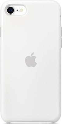 Чехол (клип-кейс) Apple iPhone SE Silicone Case - White MXYJ2ZM/A клип кейс deppa apple iphone 5 se tpu red