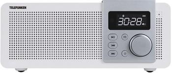 Радиочасы Telefunken TF-1583UB (светлое дерево)