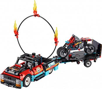 Конструктор Lego Technic Шоу трюков на грузовиках и мотоциклах 42106