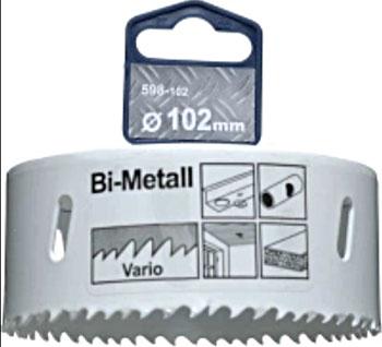 Коронка Kwb HSS BI-METALL 102 мм 598-102 коронка bi metall kwb 102 мм