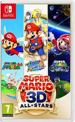 Игра для приставки Nintendo Switch: Super Mario 3D All-Stars