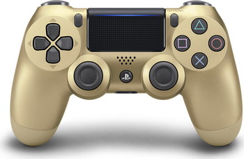 Джойстик Sony PS4 Dualshock4v2 (CUH-ZCT2E)  золотой