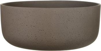 Настольный горшок для цветов Идеалист Стоун Перфект искусственный камень мокко Д27 В12 см 7 л PB-BROWN-27